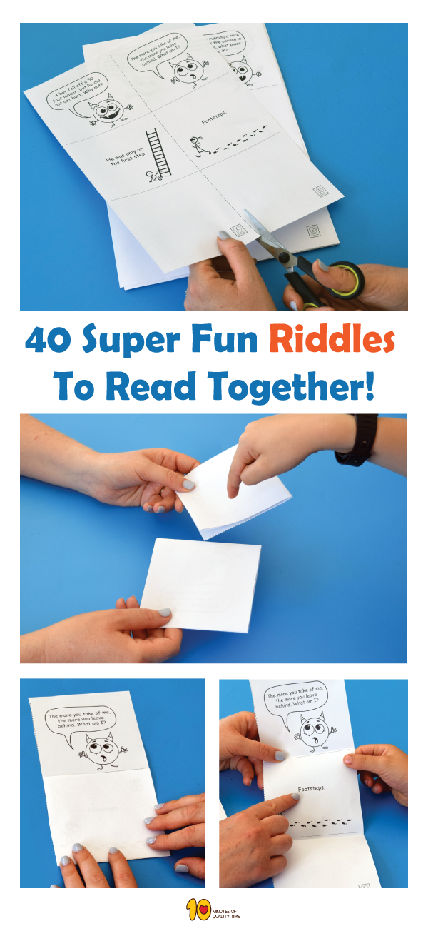 40 Fun Riddles for Kids