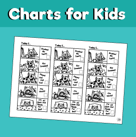 Daily Routine Chart for Kids