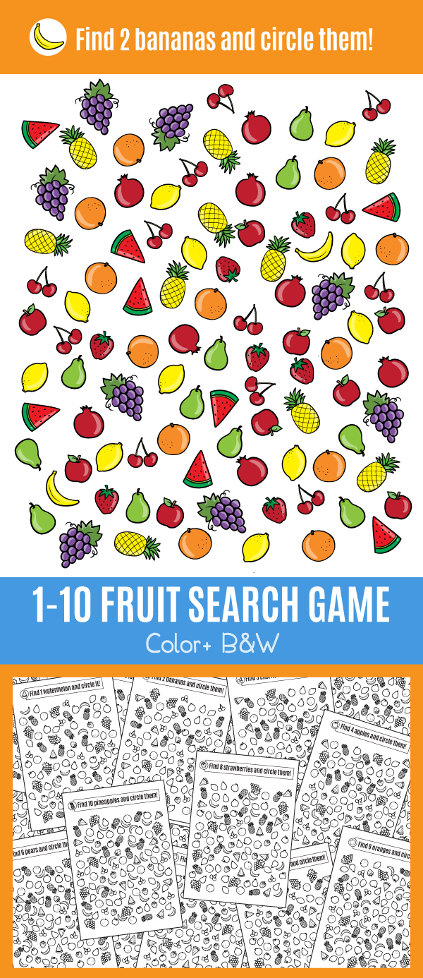 Fruit search Game