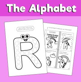 Letter R printable pack
