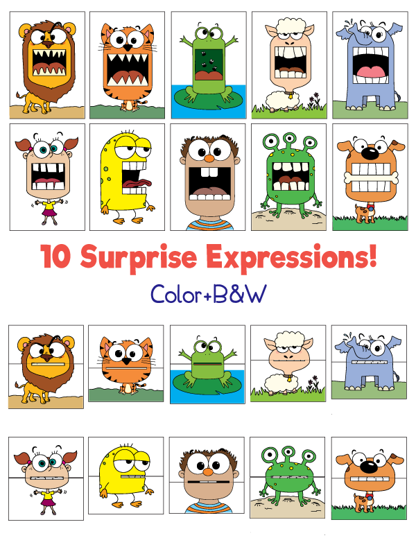 10 Surprise Expressions