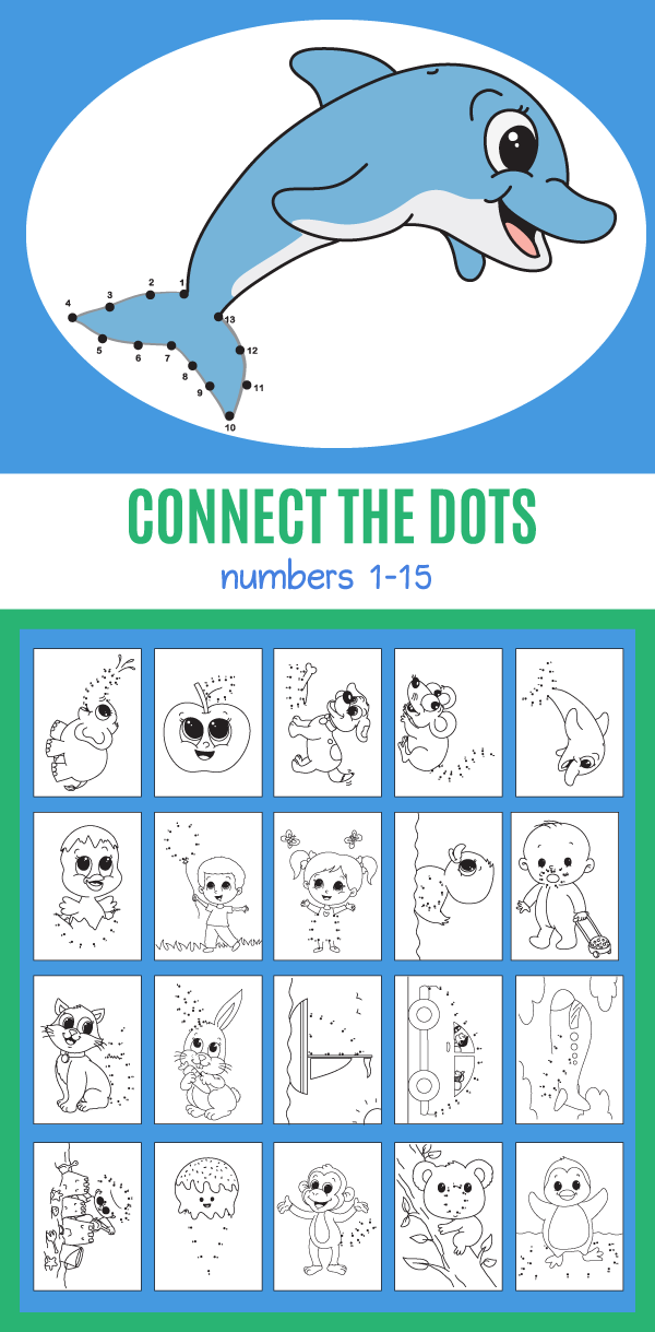 20 Connect the Dot Sheets for Beginners