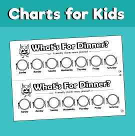 dinner planner chart