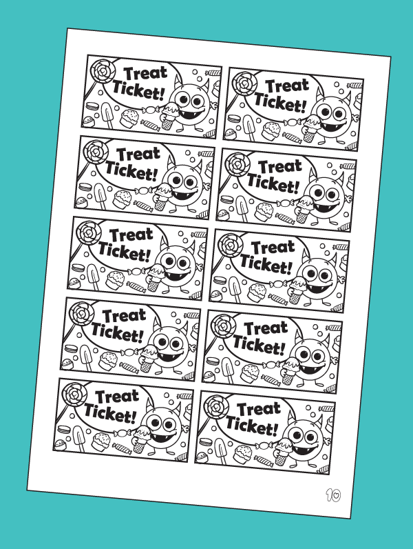 Treat Tickets for Kids
