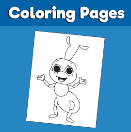 Ant-animal-coloring-pages-