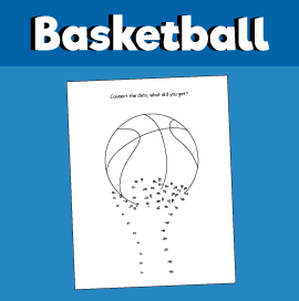 Basketball - Connect the Dots Game