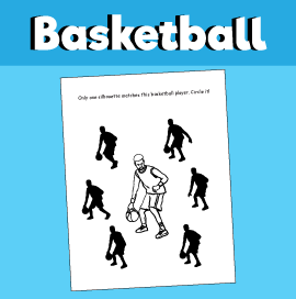 Basketball Find a Match Game