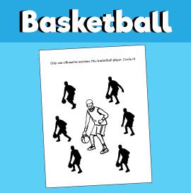 Basketball Find a Match Game