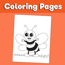 Bee-animal-coloring-pages
