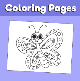 Butterfly-animal-coloring-pages-