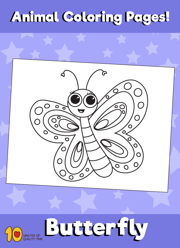 Butterfly-animal-coloring-pages
