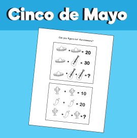 Cinco de Mayo - Math Quiz