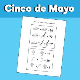Cinco de Mayo - Math Quiz