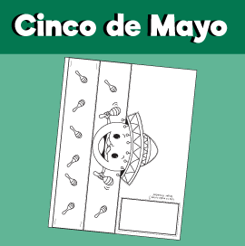 Cinco de Mayo - Paper Crown
