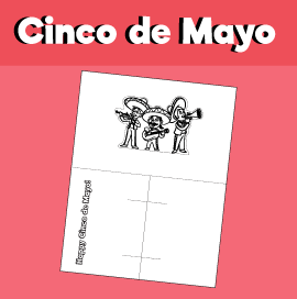 Cinco de Mayo - Pop Up Card