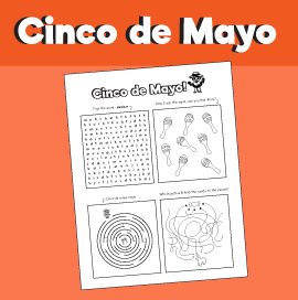 Cinco de Mayo Puzzle Collection