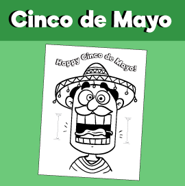 Cinco de Mayo Surprised Expression