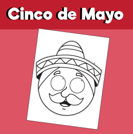 Cinco de Mayo - Paper Mask