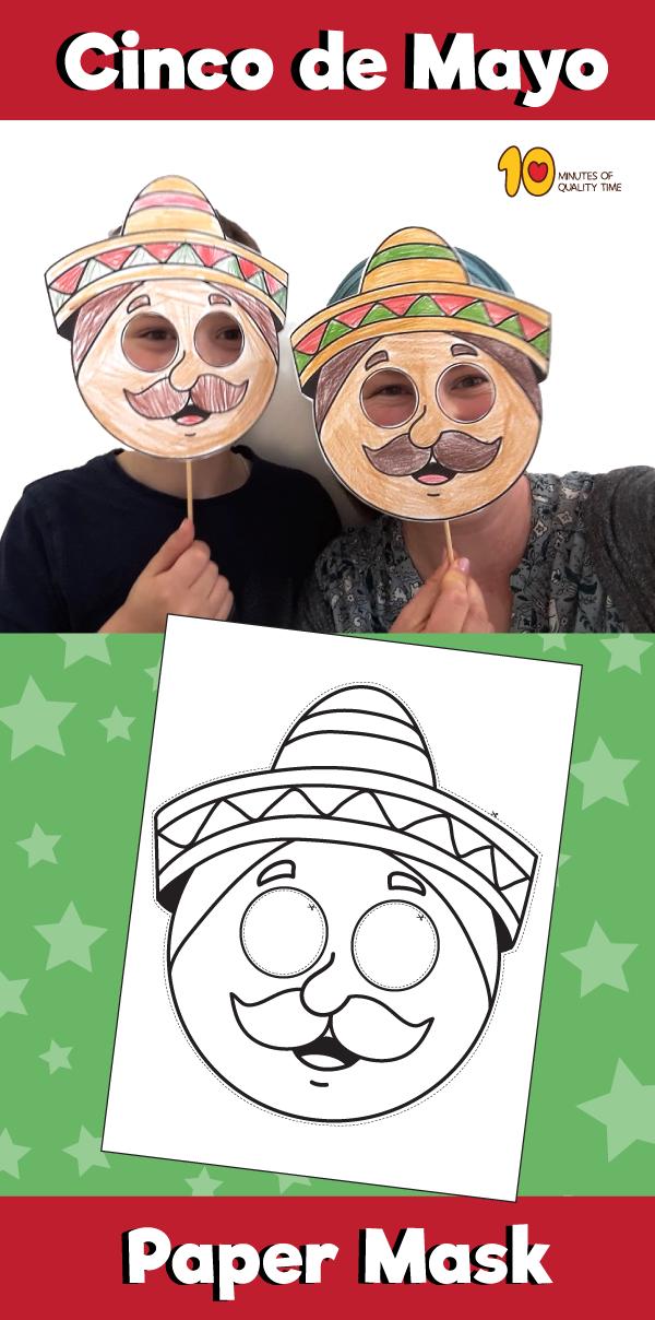 Cinco de Mayo - Paper Mask