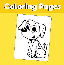 Dog-animal-coloring-pages