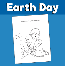 Earth Day - Connect the Dots