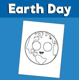Earth Day - Paper Mask