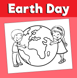 Earth-day-coloring-page-kids-hugging-earth-