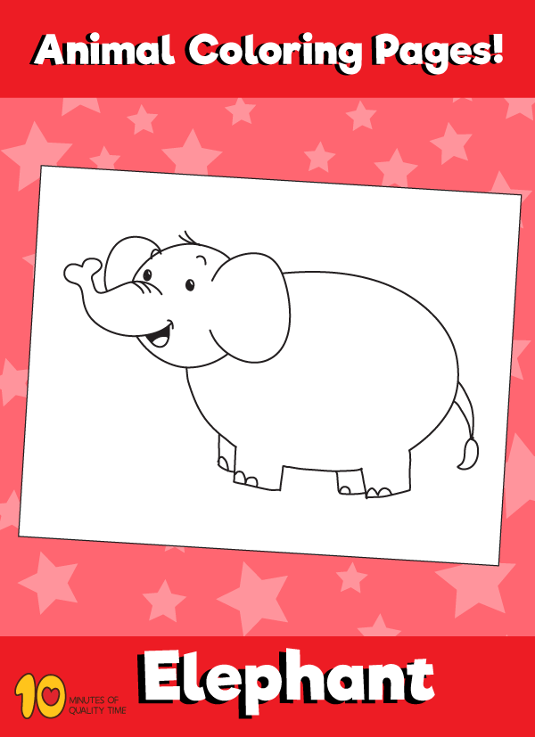 Elephant-animal-coloring-pages