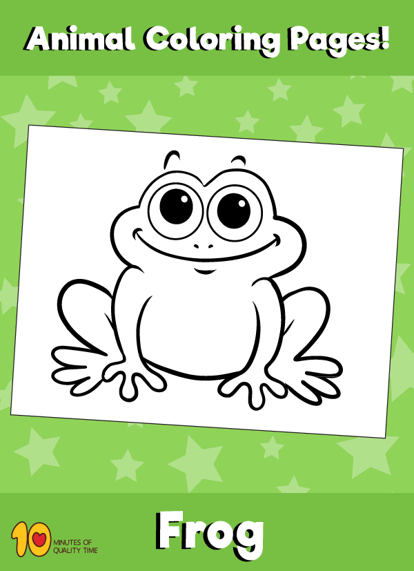 Frog-animal-coloring-pages-