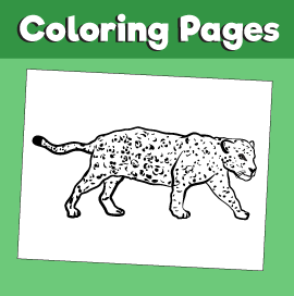 Jaguar-animal-coloring-pages