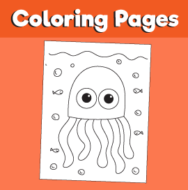 Jellyfish-animal-coloring-pages-