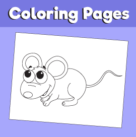 Mouse--animal-coloring-pages