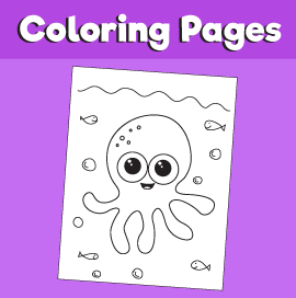 Octopus-animal-coloring-pages