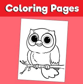 Owl-animal-coloring-pages