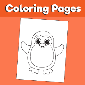 Penguin-animal-coloring-pages-