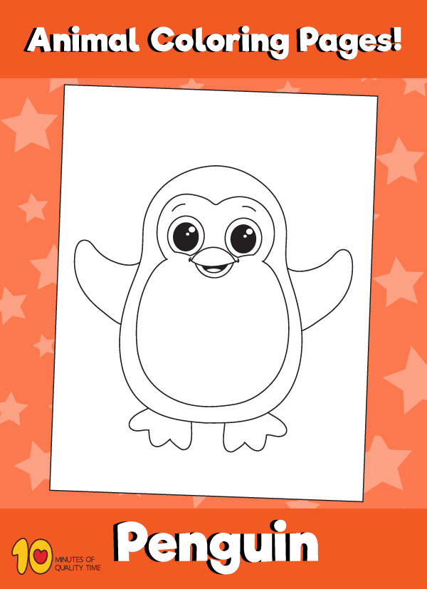 Penguin-animal-coloring-pages