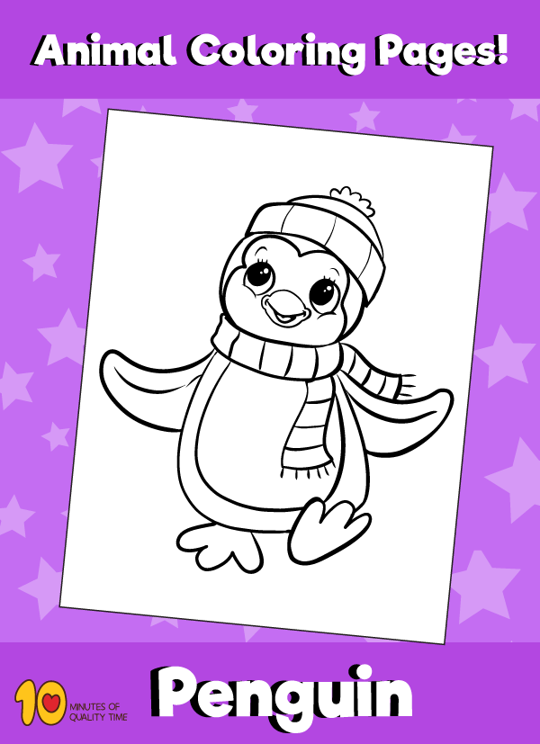 Penguin2-animal-coloring-pages-