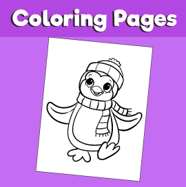 Penguin2-animal-coloring-pages