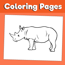 Rhinoceros-animal-coloring-pages-