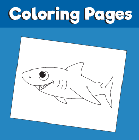 Shark-animal-coloring-pages