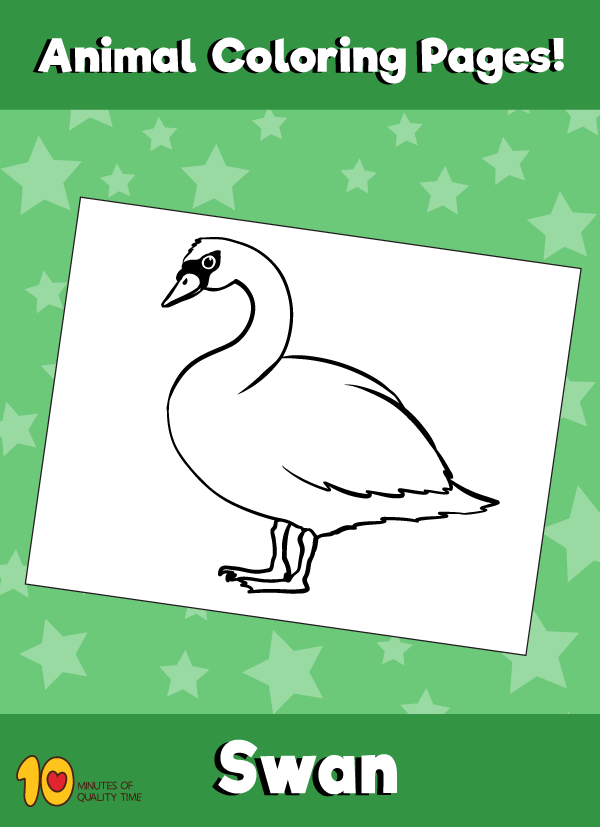 Swan-animal-coloring-pages-
