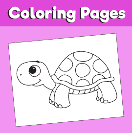 Tortoise-animal-coloring-pages-