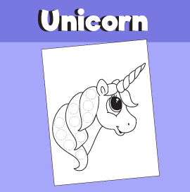 Unicorn Do a Dot