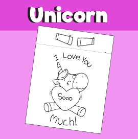 Unicorn Hugs - I Love You So Much