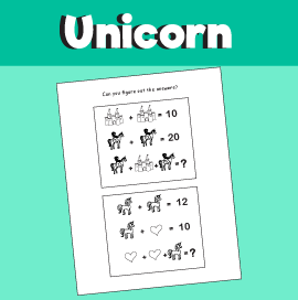Unicorn Math Quiz