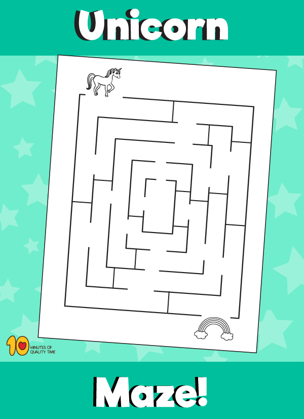 Unicorn Maze 10 Minutes of Quality