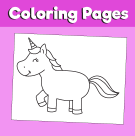 Unicorn-animal-coloring-pages-
