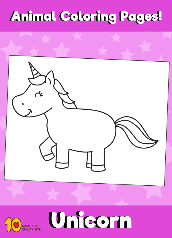 Unicorn-animal-coloring-pages