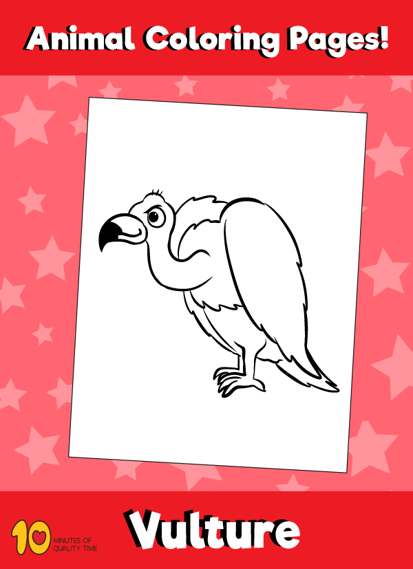 Vulture-animal-coloring-pages-