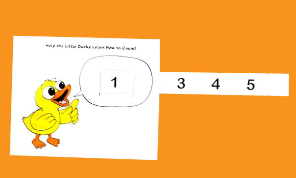 Help the Little Ducky Learn How to Count